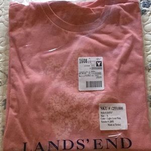 Lands' End Coral Tunic